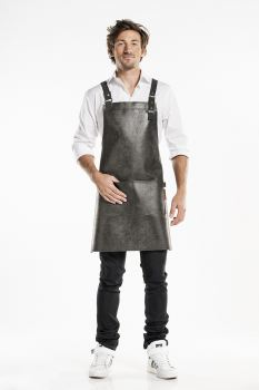 Bib Apron Strong Leather Fusion