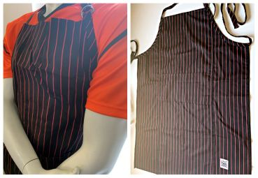 Chef Revival Bib Apron SOHO Stripe